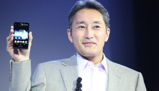 Sony's president - one of four people that actually owns the Xperia T.
